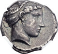 Ancients:Greek, Ancients: LUCANIA. Metapontum. Ca. 430-400 BC. AR stater or nomos(23mm, 7.86 gm, 6h). ...