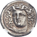 Ancients:Greek, Ancients: THESSALY. Larissa. Mid to late 4th century BC. AR drachm(20mm, 6.01 gm, 6h)....