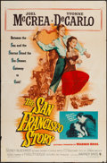 """Movie Posters:Western, The San Francisco Story (Warner Brothers, 1952). One Sheet (27"""" X41""""). Western.. ..."""