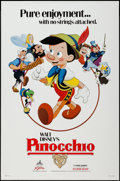 "Movie Posters:Animation, Pinocchio (Buena Vista, R-1984/R-1992). One Sheets (2) (27"" X 41"",27"" X 40"") SS & DS Advance Style B. Animation.. ... (Total: 2Items)"