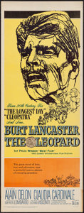 "Movie Posters:Drama, The Leopard (20th Century Fox, 1963). Insert (14"" X 36""). Drama.. ..."