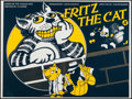 "Movie Posters:Animation, Fritz the Cat (1980s). British Commercial Poster (30"" X 40"").Animation.. ..."