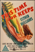 "Movie Posters:Musical, This Time for Keeps (MGM, 1947). Australian One Sheet (27"" X 40"").Musical.. ..."