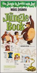 "Movie Posters:Animation, The Jungle Book (Buena Vista, 1967). Three Sheet (41"" X 83.5""). Animation.. ..."