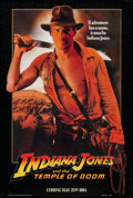 "Movie Posters:Adventure, Indiana Jones and the Temple of Doom (Paramount, 1984). One Sheet(26.75"" X 40"") Advance. Adventure.. ..."