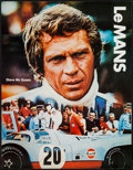"Movie Posters:Sports, Le Mans (National General, 1971). Gulf Promotional Poster (17"" X 22""). Sports.. ..."