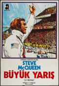 "Movie Posters:Sports, Le Mans (Akun Film, 1971). Turkish Poster (26.5"" X 40""). Sports.. ..."