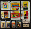 Non-Sport Cards:Lots, 1950's-1960's Non-Sport Card and Wrappers Collection (150+). ...