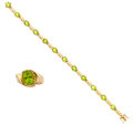 Estate Jewelry:Suites, Peridot, Gold Jewelry Suite. ... (Total: 2 Items)