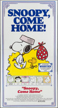 "Movie Posters:Animation, Snoopy, Come Home! (National General, 1972). Three Sheet (41"" X77""). Animation.. ..."
