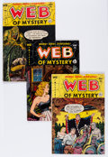 Golden Age (1938-1955):Horror, Web of Mystery Group (Ace, 1951-55) Condition: Average VG-....(Total: 14 Comic Books)