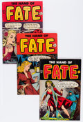 Golden Age (1938-1955):Horror, The Hand of Fate Group (Ace, 1951-54) Condition: Average VG....(Total: 6 Comic Books)