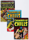 Golden Age (1938-1955):Horror, Chamber of Chills Group (Harvey, 1952-54) Condition: Average VG....(Total: 7 Comic Books)