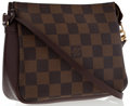 Luxury Accessories:Bags, Louis Vuitton Damier Ebene Canvas Trousse Pochette Bag. ...