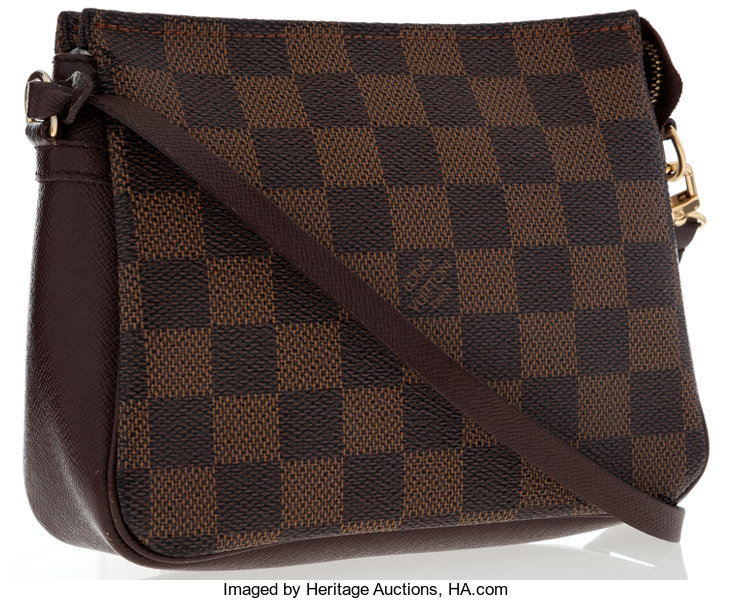 Louis Vuitton Damier Ebene Canvas Trousse Pochette Bag. ... Luxury ... 079a1100889d5