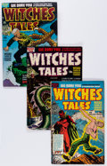 Golden Age (1938-1955):Horror, Witches Tales Group (Harvey, 1952-54) Condition: Average VG/FN....(Total: 6 Comic Books)
