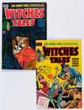 Golden Age (1938-1955):Horror, Witches Tales #1 and 2 Group (Harvey, 1951) Condition: AverageVG+.... (Total: 2 Comic Books)
