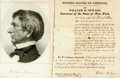 Autographs:Statesmen, William H. Seward Document Signed...