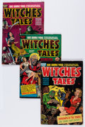 Golden Age (1938-1955):Horror, Witches Tales Group (Harvey, 1952-54) Condition: Average VG-....(Total: 10 Comic Books)