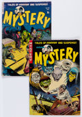 Golden Age (1938-1955):Science Fiction, Mister Mystery #10 and 14 Group (Aragon, 1953-54).... (Total: 2Comic Books)