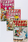 Golden Age (1938-1955):Cartoon Character, Terry-Toons Comics Group (Timely/St. John, 1944-53) Condition:Average VG.... (Total: 8 Comic Books)