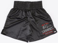 Boxing Collectibles:Autographs, Mike Tyson Signed Boxing Trunks. ...