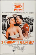 "Movie Posters:Foreign, Two Nights with Cleopatra & Others Lot (Ultra Film, 1964). One Sheets (2) (27"" X 41"") & Promo (8 Pages, 14.5"" X 16.5""). Fore... (Total: 3 Items)"