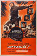 """Movie Posters:War, Attack! (United Artists, 1956). Poster (40"""" X 60""""). War.. ..."""