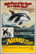 "Movie Posters:Adventure, Namu, the Killer Whale & Others Lot (United Artists, 1966).Posters (4) (40"" X 60""). Adventure.. ... (Total: 4 Items)"