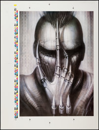 """Future-Kill (International Film Marketing, 1985). H.R. Giger Autographed & Numbered Printer's Proof (35"""" X..."""