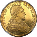 German States:Saxony, German States: Saxony. Friedrich August III gold Ducat 1799-IECMS65 Prooflike NGC,...