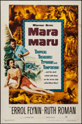 "Movie Posters:Adventure, Mara Maru (Warner Brothers, 1952). One Sheet (27"" X 41"").Adventure.. ..."