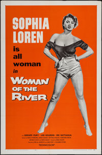 """Woman of the River (Columbia, 1957). One Sheet (27"""" X 41""""). Foreign"""