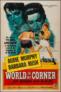 "Movie Posters:Sports, World in My Corner (Universal International, 1956). One Sheet (27"" X 41""). Sports.. ..."