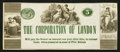 Obsoletes By State:Ohio, London, OH (?), The Corporation of London $5 Undated RemainderWolka UNL. ...