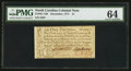 Colonial Notes:North Carolina, North Carolina December, 1771 £1 PMG Choice Uncirculated 64.. ...