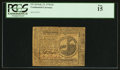 Colonial Notes:Continental Congress Issues, Continental Currency February 17, 1776 $2 PCGS Fine 15.. ...
