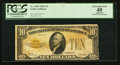 Small Size:Gold Certificates, Fr. 2400 $10 1928 Gold Certificate. PCGS Apparent Extremely Fine 40.. ...