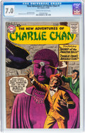Silver Age (1956-1969):Mystery, The New Adventures of Charlie Chan #1 (DC, 1958) CGC FN/VF 7.0Cream to off-white pages....