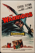 "Movie Posters:Adventure, The Warriors (Allied Artists, 1955). One Sheet (27"" X 41"").Adventure.. ..."