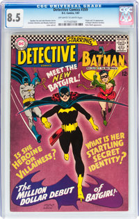 Detective Comics #359 (DC, 1967) CGC VF+ 8.5 Off-white to white pages