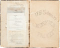 Autographs:Military Figures, USS Norfolk Packet Order Book....