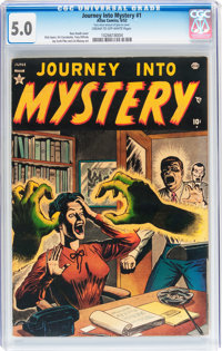 Journey Into Mystery #1 (Marvel, 1952) CGC VG/FN 5.0 Cream to off-white pages