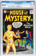 Silver Age (1956-1969):Horror, House of Mystery #84 (DC, 1959) CGC VF 8.0 Off-white to whitepages....