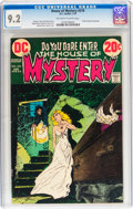 Bronze Age (1970-1979):Horror, House of Mystery #210 (DC, 1973) CGC NM- 9.2 Off-white to whitepages....