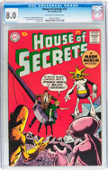 Silver Age (1956-1969):Horror, House of Secrets #32 (DC, 1960) CGC VF 8.0 Off-white to whitepages....