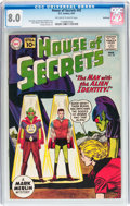 Silver Age (1956-1969):Horror, House of Secrets #42 Northland pedigree (DC, 1961) CGC VF 8.0Off-white to white pages....