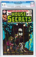Silver Age (1956-1969):Mystery, House of Secrets #81 (DC, 1969) CGC NM- 9.2 Off-white to whitepages....