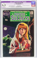Bronze Age (1970-1979):Horror, House of Secrets #92 (DC, 1971) CGC Apparent FN+ 6.5 Slight (P)Off-white pages....