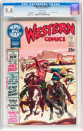 Bronze Age (1970-1979):Western, Super DC Giant #15 (DC, 1970) CGC NM 9.4 White pages....